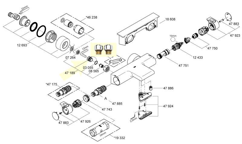 compatible pour Brother P-Touch Tze Ruban TZ Dor/é sur noir Label 6/mm 9/mm 12/mm 18/mm 24/mm 36/mm toutes les tailles TZe-354 24mm noir//or