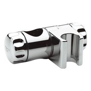 Grohe 07659000 curseur pour barre de douche 25 mm chrom - Curseur barre de douche ...