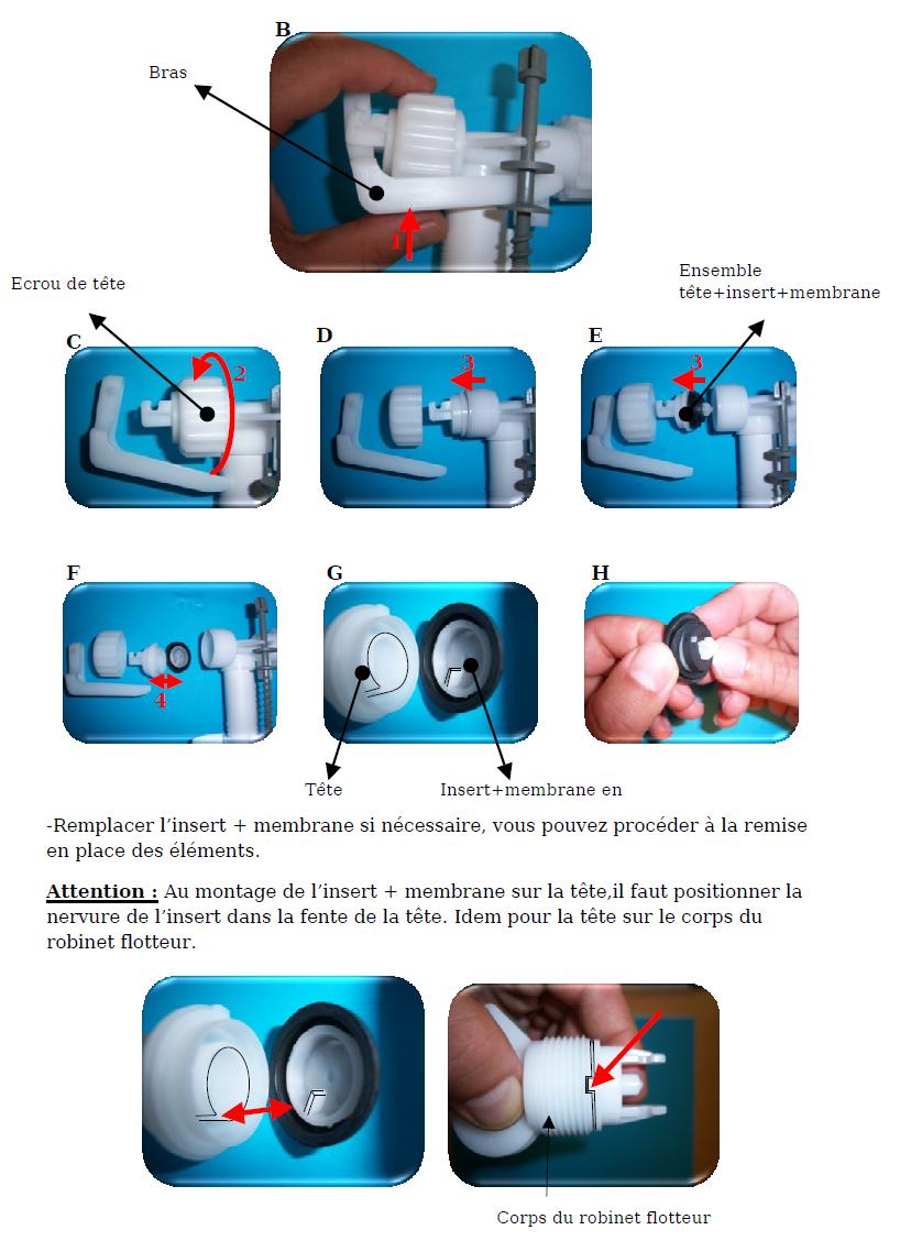 Siamp 34 9513 01 Membrane Insert Pour Robinet Flotteur 95 99