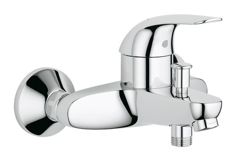 Grohe 23366000 mitigeur bain douche grohe euroeco for Mitigeur mural grohe