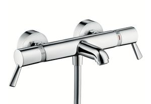HANSGROHE 13115000 Mitigeur thermostatique Mural Bain Douche ECOSTAT COMFORT CARE.