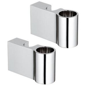 GROHE 0666700M Support de barre de douche chromé.