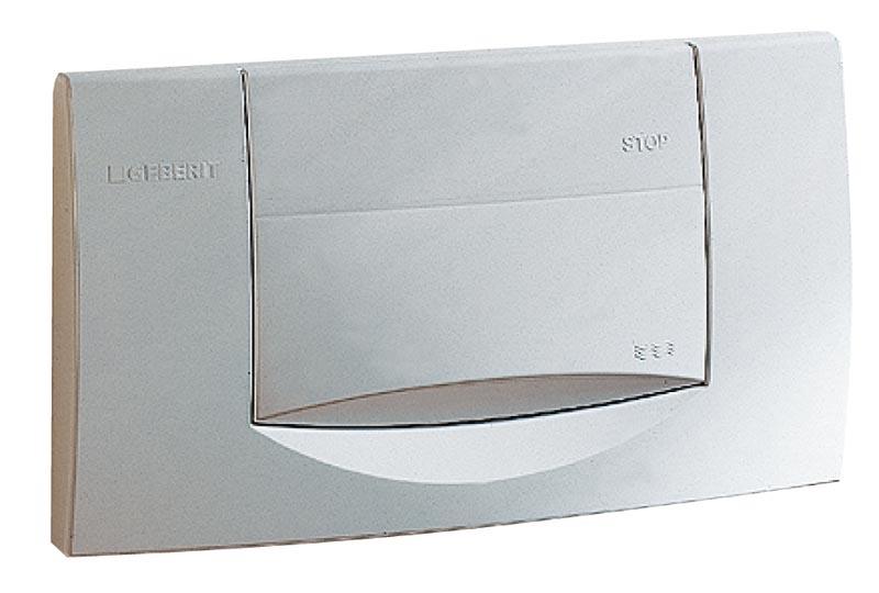 geberit plaque de d clenchement highline 200f blanche. Black Bedroom Furniture Sets. Home Design Ideas