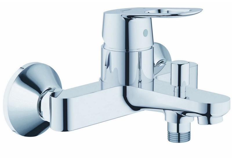 Grohe 23341000 mitigeur bain douche mural bauloop 23 341 000 for Mitigeur mural grohe