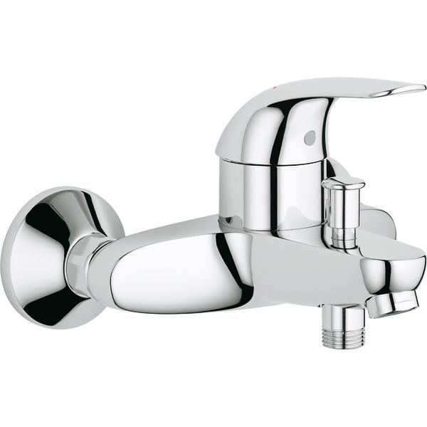 Grohe 32743000 mitigeur bain douche grohe euroeco mural for Mitigeur mural grohe
