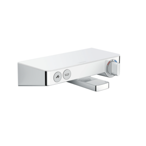 Hansgrohe 13151400 Mitigeur thermostatique douche Ecostat ShowerTablet Select 300, Blanc.