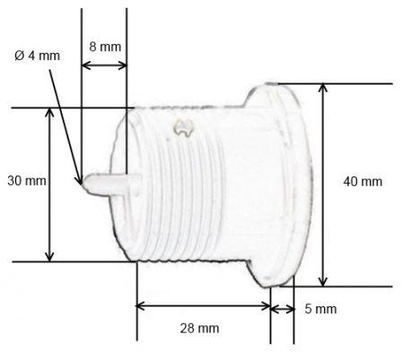 sfa c30110 ou sfa bpb bouton poussoir pneumatique s f a. Black Bedroom Furniture Sets. Home Design Ideas