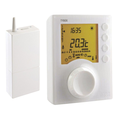 DELTA DORE Tybox 137 Thermostat programmable radio.