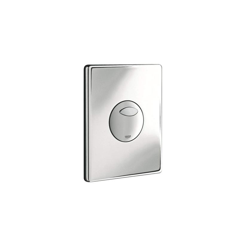grohe 42303000 plaque de commande pour wc suspendu chrom. Black Bedroom Furniture Sets. Home Design Ideas
