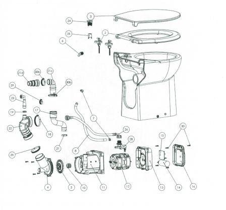 sfa mseulrape moteur seul pour sanicompact sfa pi ces d tach es sfa. Black Bedroom Furniture Sets. Home Design Ideas