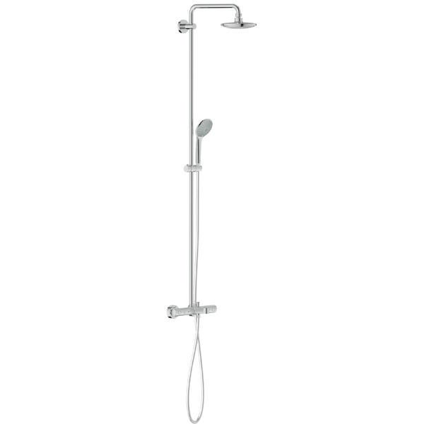 grohe 27537000 colonne de douche avec mitigeur thermostatique b d. Black Bedroom Furniture Sets. Home Design Ideas