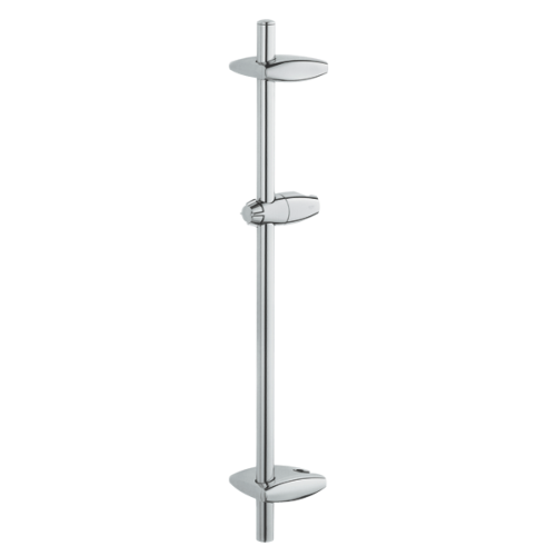 GROHE 28723000 Barre de douche face MOVARIO 600 mm, chromé.