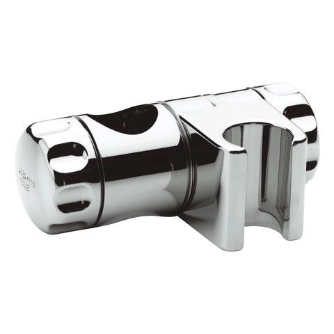 Grohe 07659000 curseur pour barre de douche 25 mm chrom - Support douchette pour barre ...