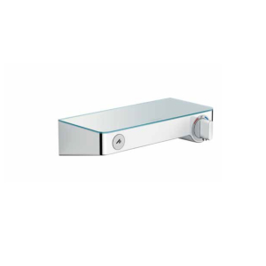 Hansgrohe 13171400 Mitigeur thermostatique douche Ecostat ShowerTablet Select 300, Blanc Chromé.
